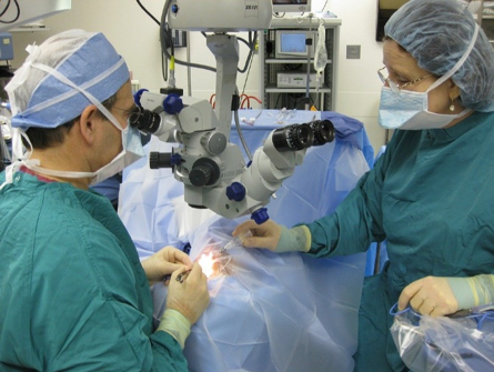 What training does a microsurgeon receive?